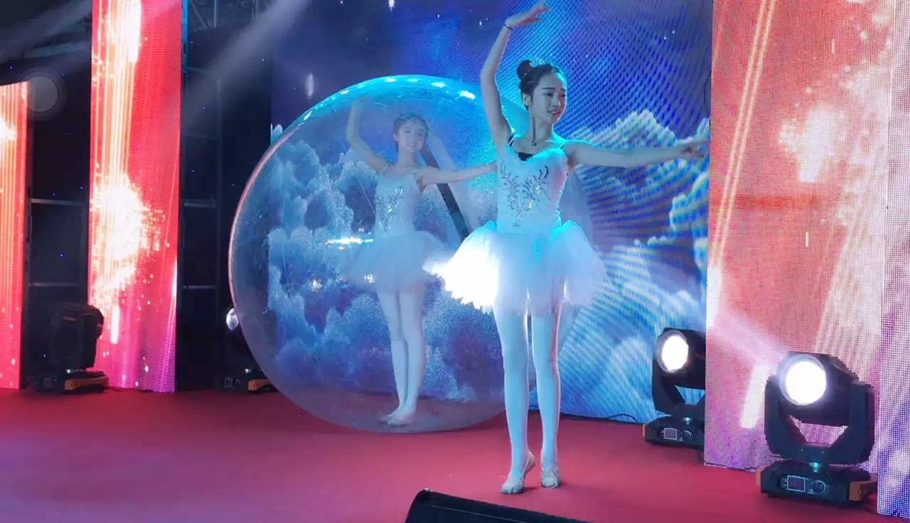 梦幻水晶球舞蹈表演图片